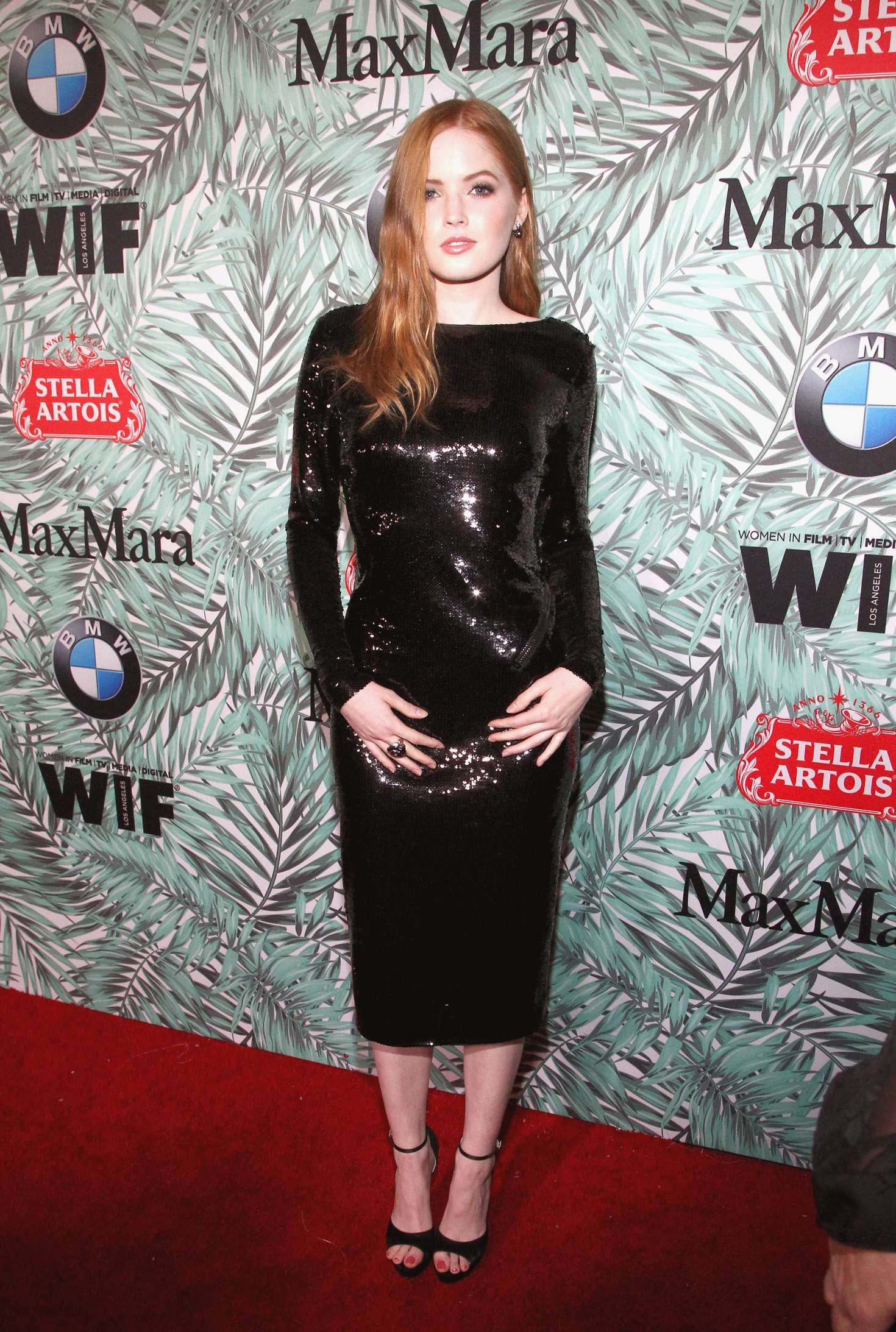 Ellie Bamber 2017 : Ellie Bamber: 10th Annual Women in Film Pre-Oscar Cocktail Party -03