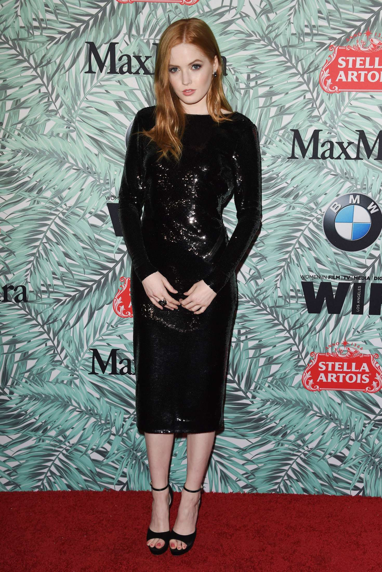 Ellie Bamber 2017 : Ellie Bamber: 10th Annual Women in Film Pre-Oscar Cocktail Party -04