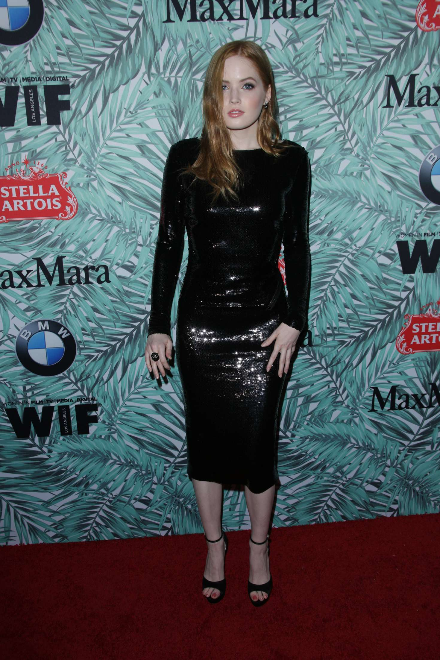 Ellie Bamber 2017 : Ellie Bamber: 10th Annual Women in Film Pre-Oscar Cocktail Party -05