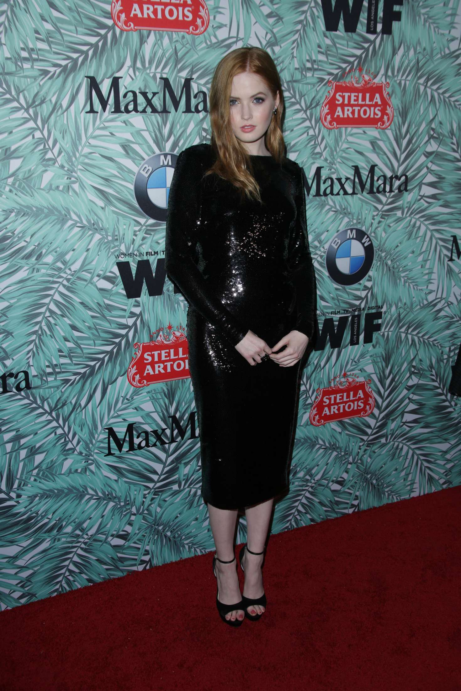 Ellie Bamber 2017 : Ellie Bamber: 10th Annual Women in Film Pre-Oscar Cocktail Party -06