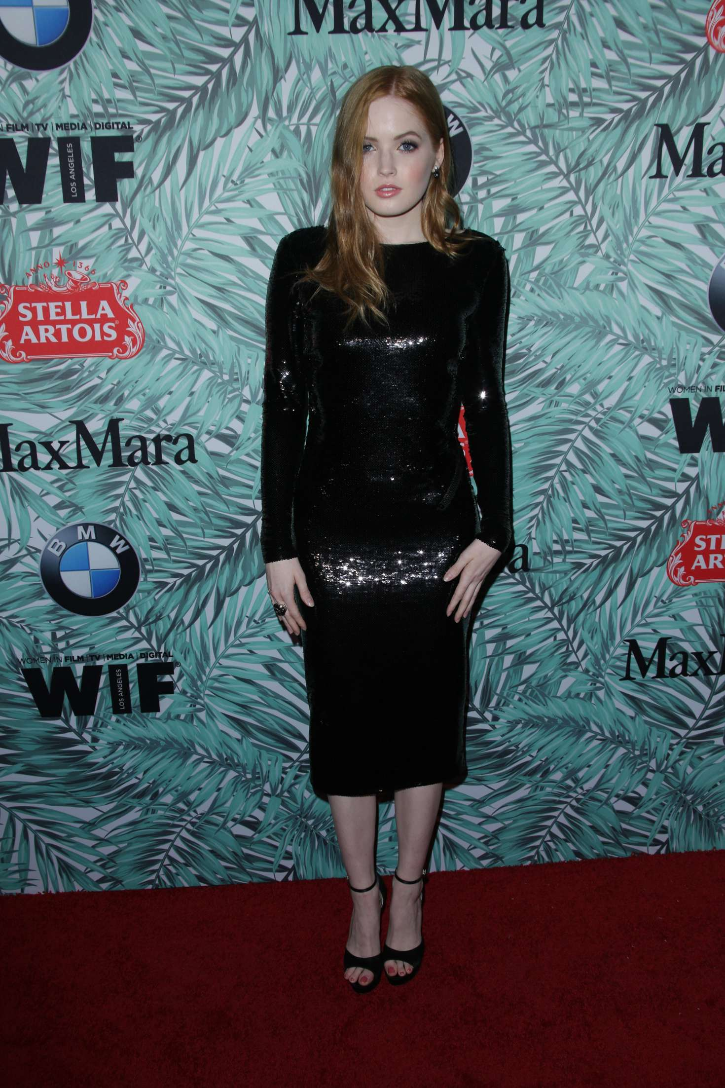 Ellie Bamber 2017 : Ellie Bamber: 10th Annual Women in Film Pre-Oscar Cocktail Party -07