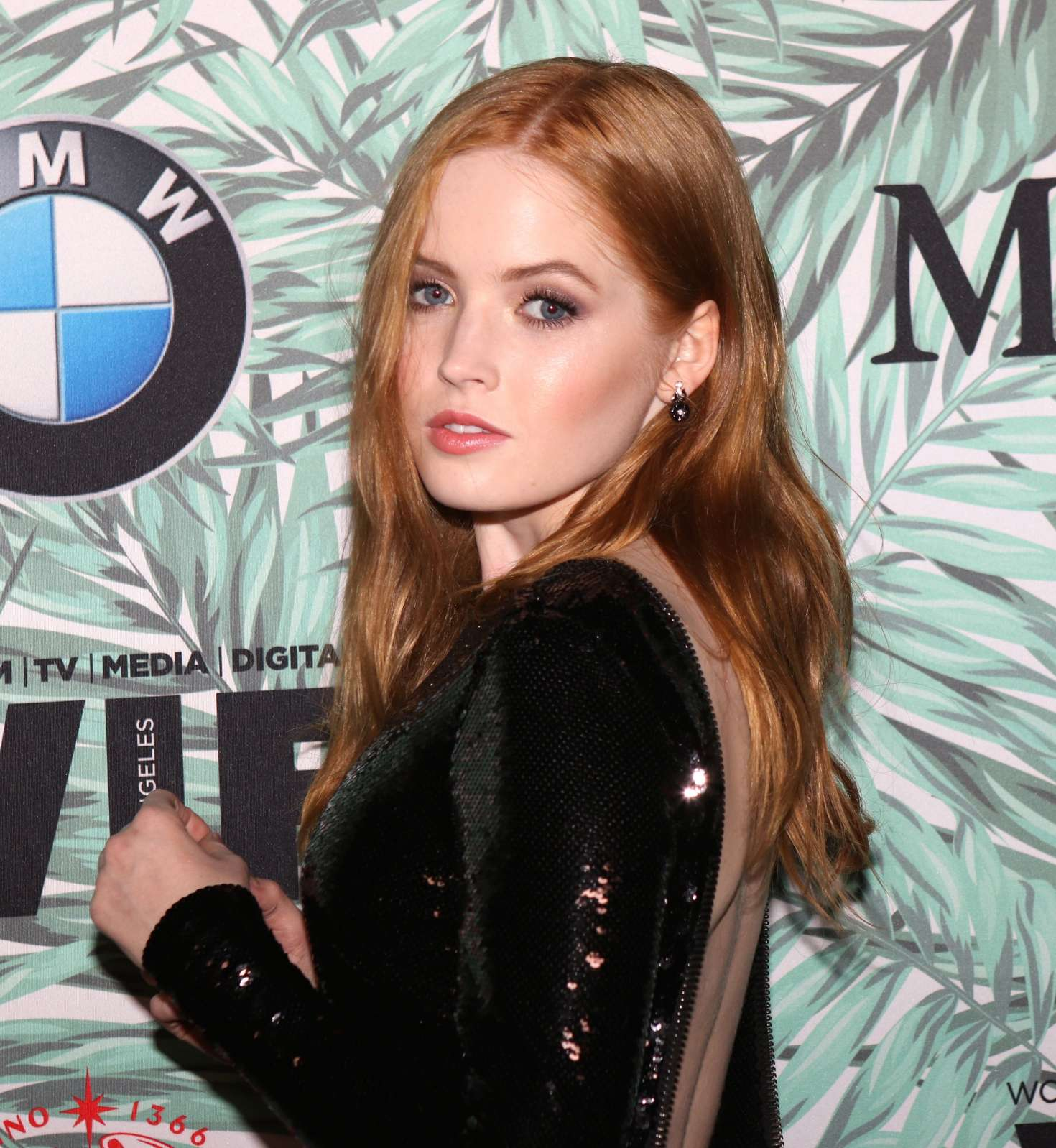 Ellie Bamber 2017 : Ellie Bamber: 10th Annual Women in Film Pre-Oscar Cocktail Party -09
