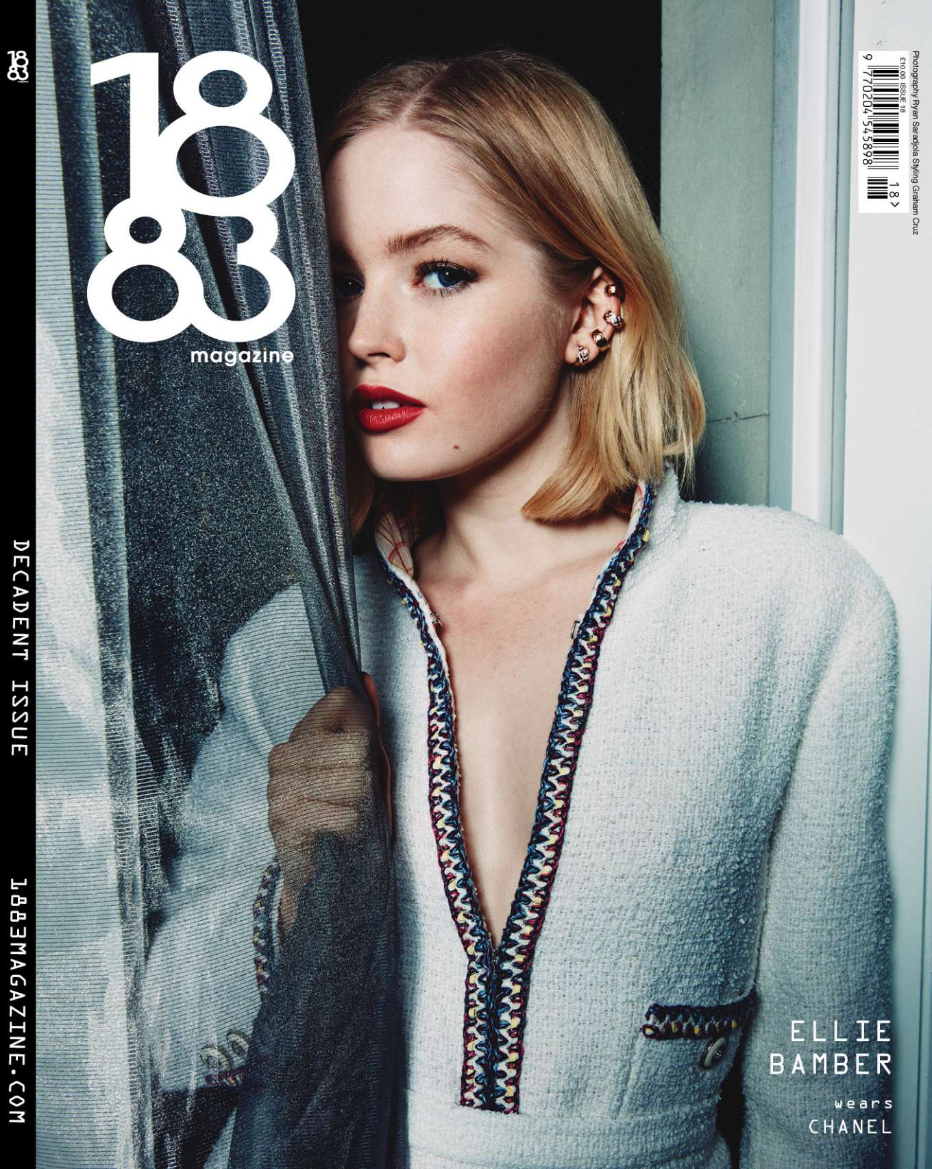 Ellie Bamber - 1883 Magazine Decadent Cover 2020