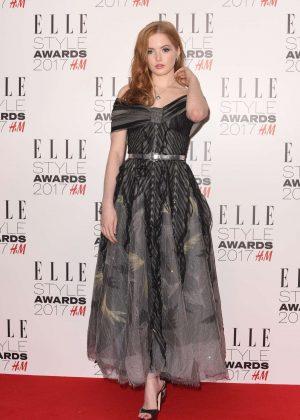 Ellie Bamber - 2017 Elle Style Awards in London