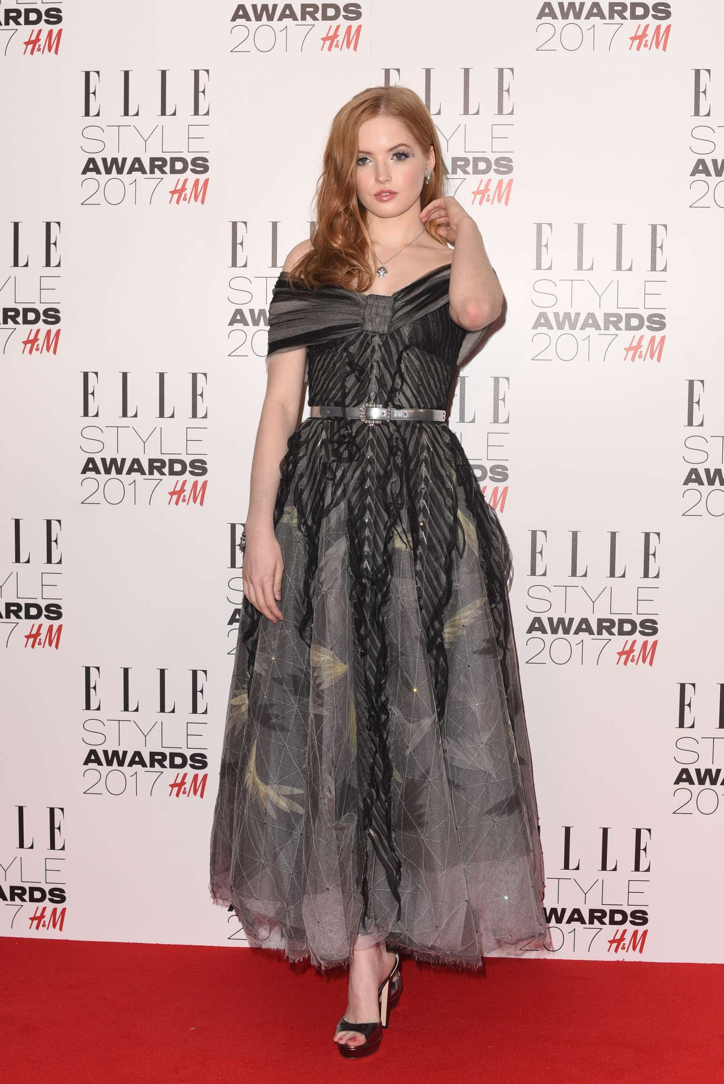 Ellie Bamber - 2017 Elle Style Awards in London