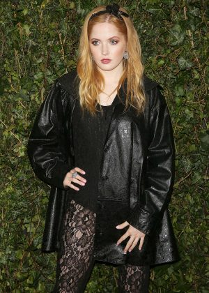 Ellie Bamber - 2018 Charles Finch x Chanel Pre-Bafta Party in London