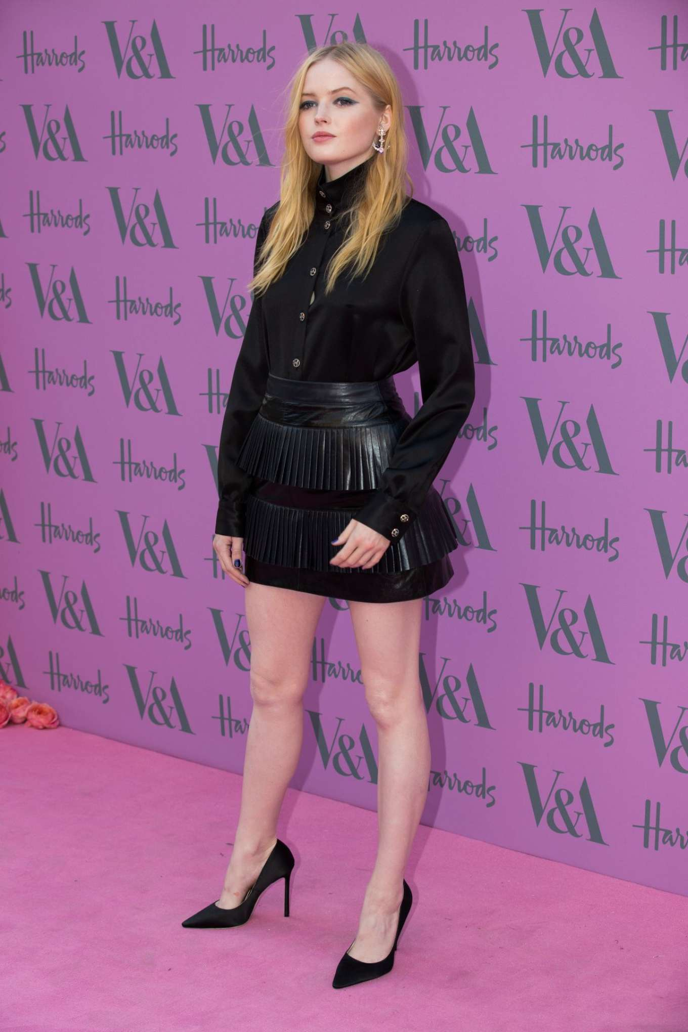 Ellie Bamber 2018 : Ellie Bamber: 2018 Victoria and Albert Museum Summer Party -01