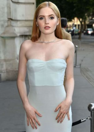 Ellie Bamber attends at V&A Summer Party 2017 in London