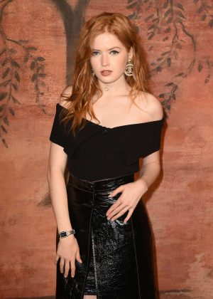 Ellie Bamber - Chanel Cruise Collection in Paris