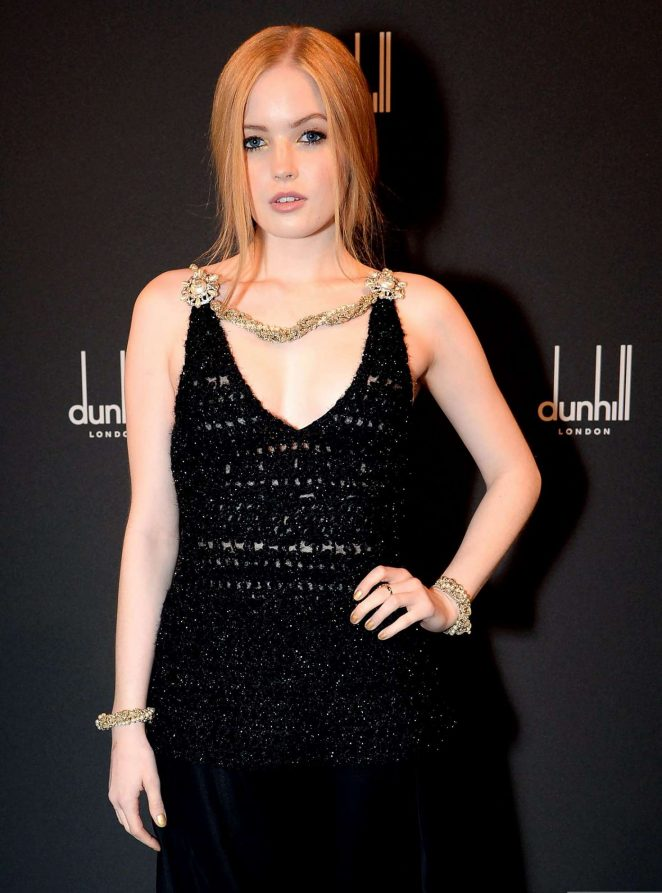 Ellie Bamber - Dunhill and GQ Pre-BAFTA Filmmakers Dinner and Party in London