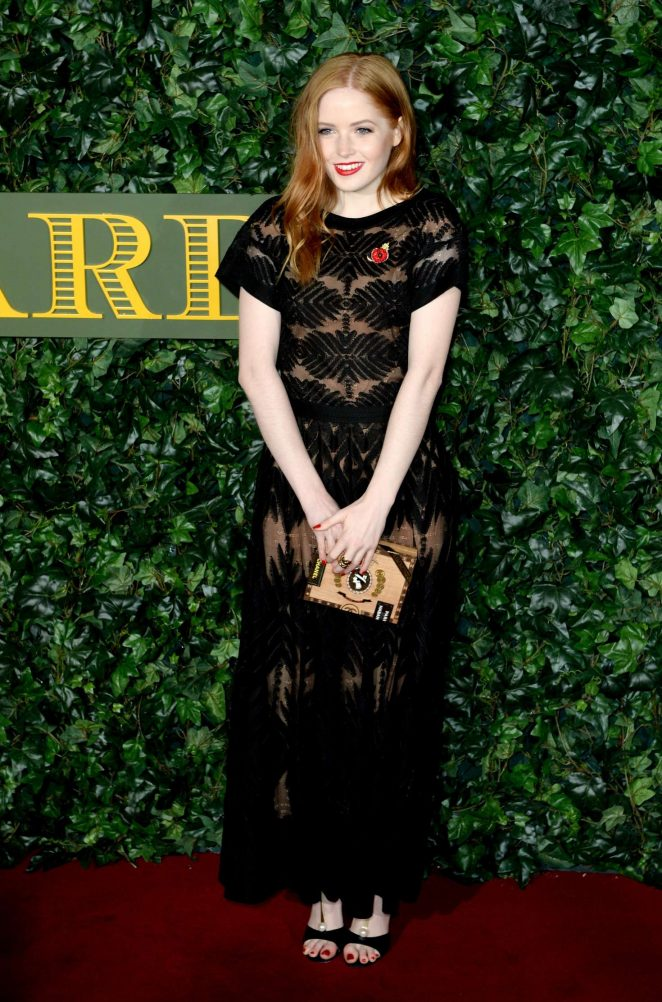 Ellie Bamber - Evening Standard Theatre Awards 2016 in London