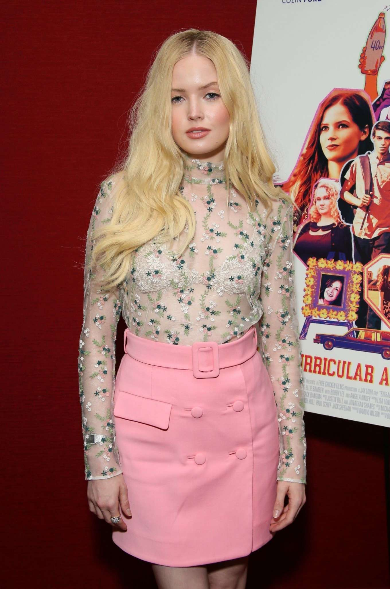 Ellie Bamber - 'Extracurricular Activities' Premiere in Santa Monica
