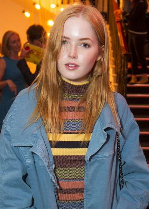 Ellie Bamber - 'Girl from the North Country' Party in London