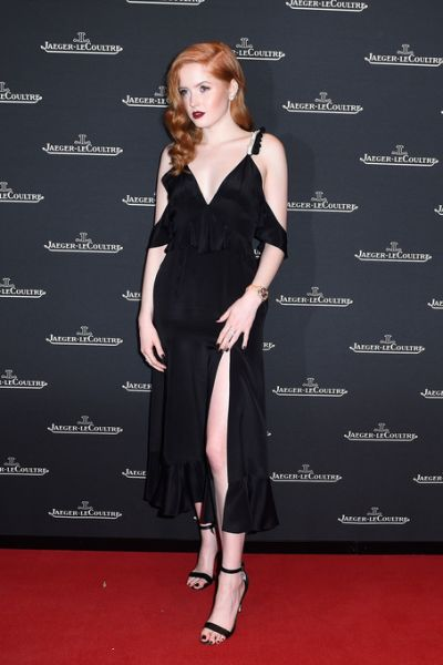 Ellie Bamber - JaegerLeCoultre Polaris Gala at SIHH 2018 in Les Acacias