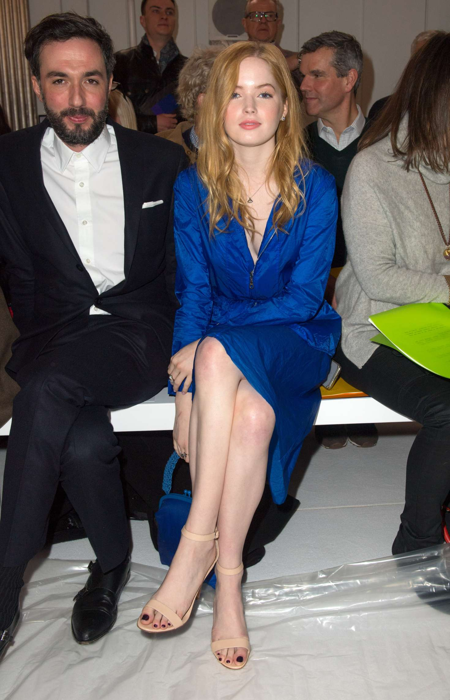Ellie Bamber 2018 : Ellie Bamber: Jasper Conran Fashion Show 2018 in London -11