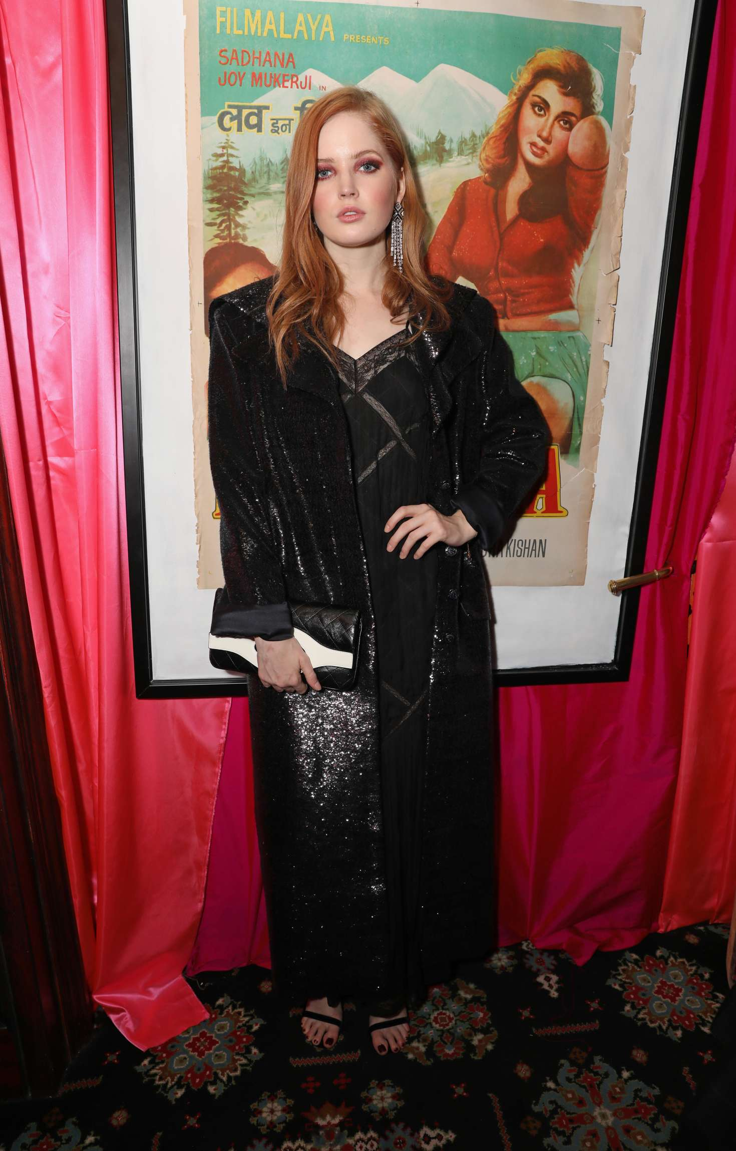 Ellie Bamber - LOVE Magazine Party in London