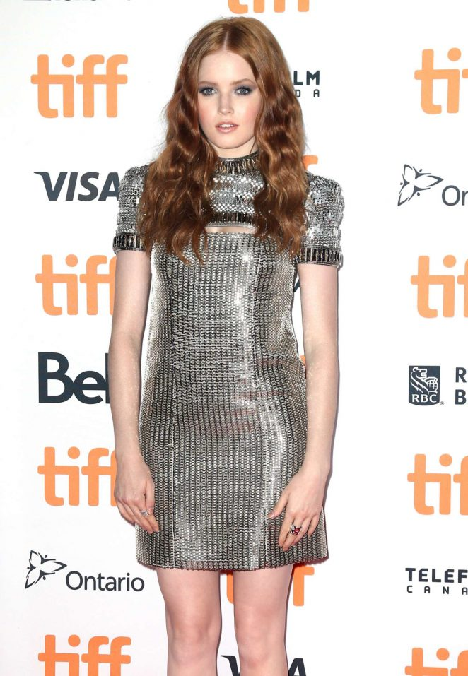 Ellie Bamber - 'Nocturnal Animals' Premiere at 2016 Toronto International Film Festival