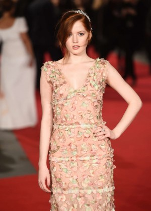 Ellie Bamber - 'Pride and Prejudice and Zombies' Premiere in London