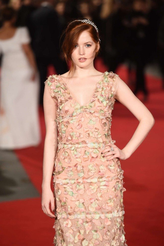 Ellie Bamber: Pride and Prejudice and Zombies UK Premiere -02
