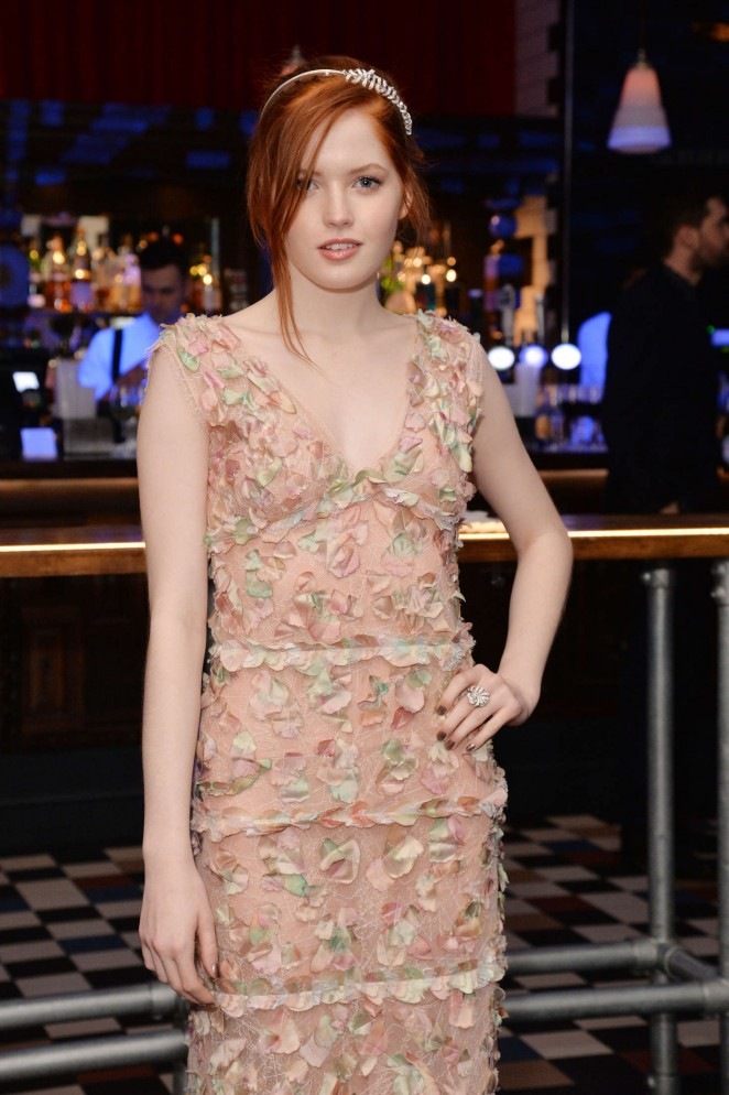 Ellie Bamber: Pride and Prejudice and Zombies UK Premiere -05