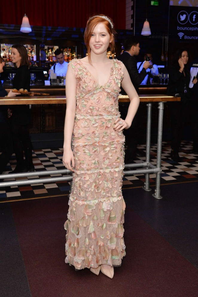 Ellie Bamber: Pride and Prejudice and Zombies UK Premiere -06