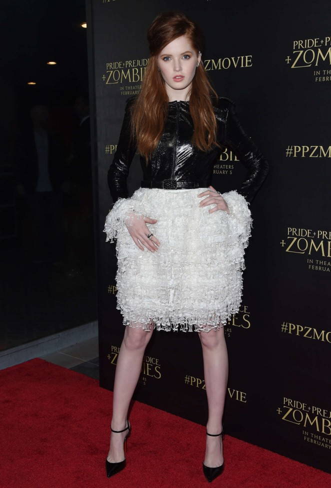 Ellie Bamber: Pride and Prejudice and Zombies LA Premiere -10
