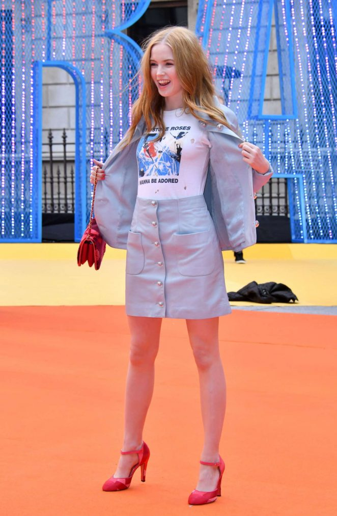 Ellie Bamber - Royal Academy of Arts Summer Exhibition VIP preview in London