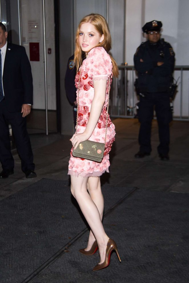Ellie Bamber - The Museum of Modern Art Film Benefit in NY