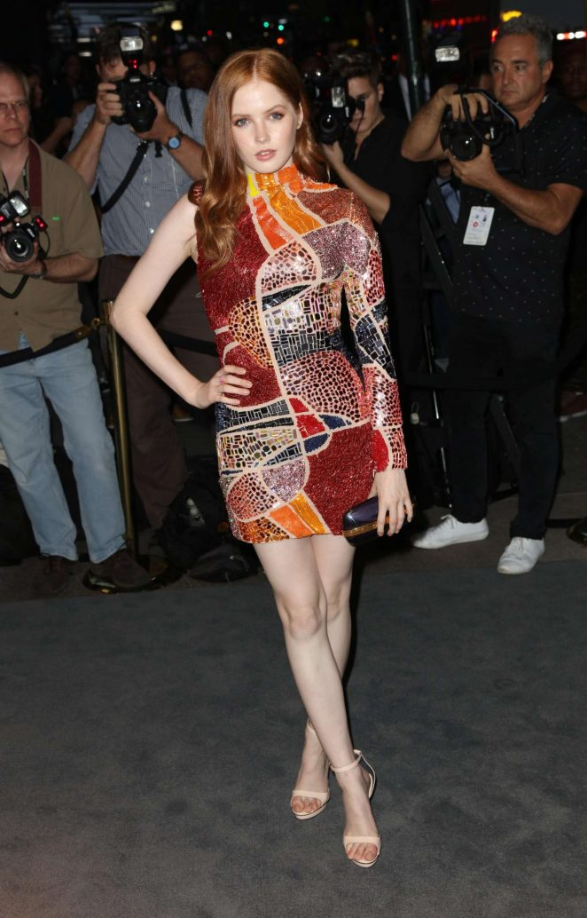 Ellie Bamber - Tom Ford Fashion Show at New York Fashion Week in NY