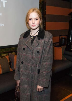 Ellie Bamber - 'Vent' Screening in London
