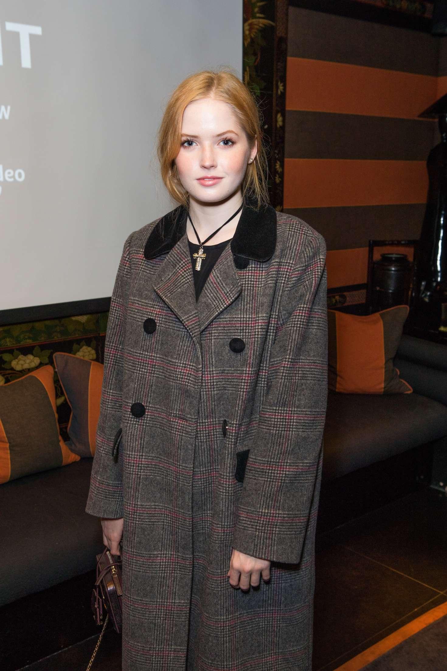 Ellie Bamber - 'Vent' Screening in London