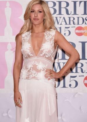 Ellie Goulding - 2015 BRIT Awards in London