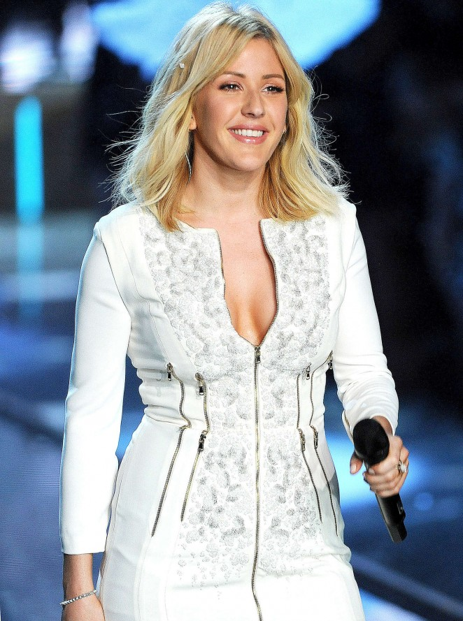 Ellie Goulding - 2015 Victoria's Secret Fashion Show Runway in NYC