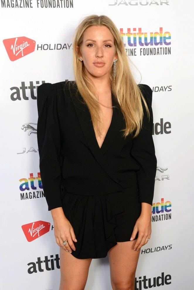 Ellie Goulding - 2018 Attitude Magazine Awards in London