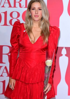 Ellie Goulding - 2018 Brit Awards in London