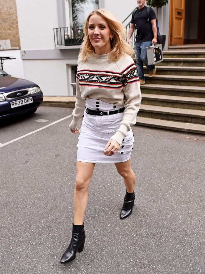 Ellie Goulding - Abbey Road Studios in London