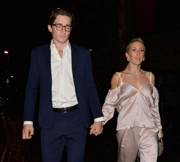 Ellie Goulding 2019 : Ellie Goulding and her husband Jaspar Copling were seen leaving the Roundhouse in Camden – London-05