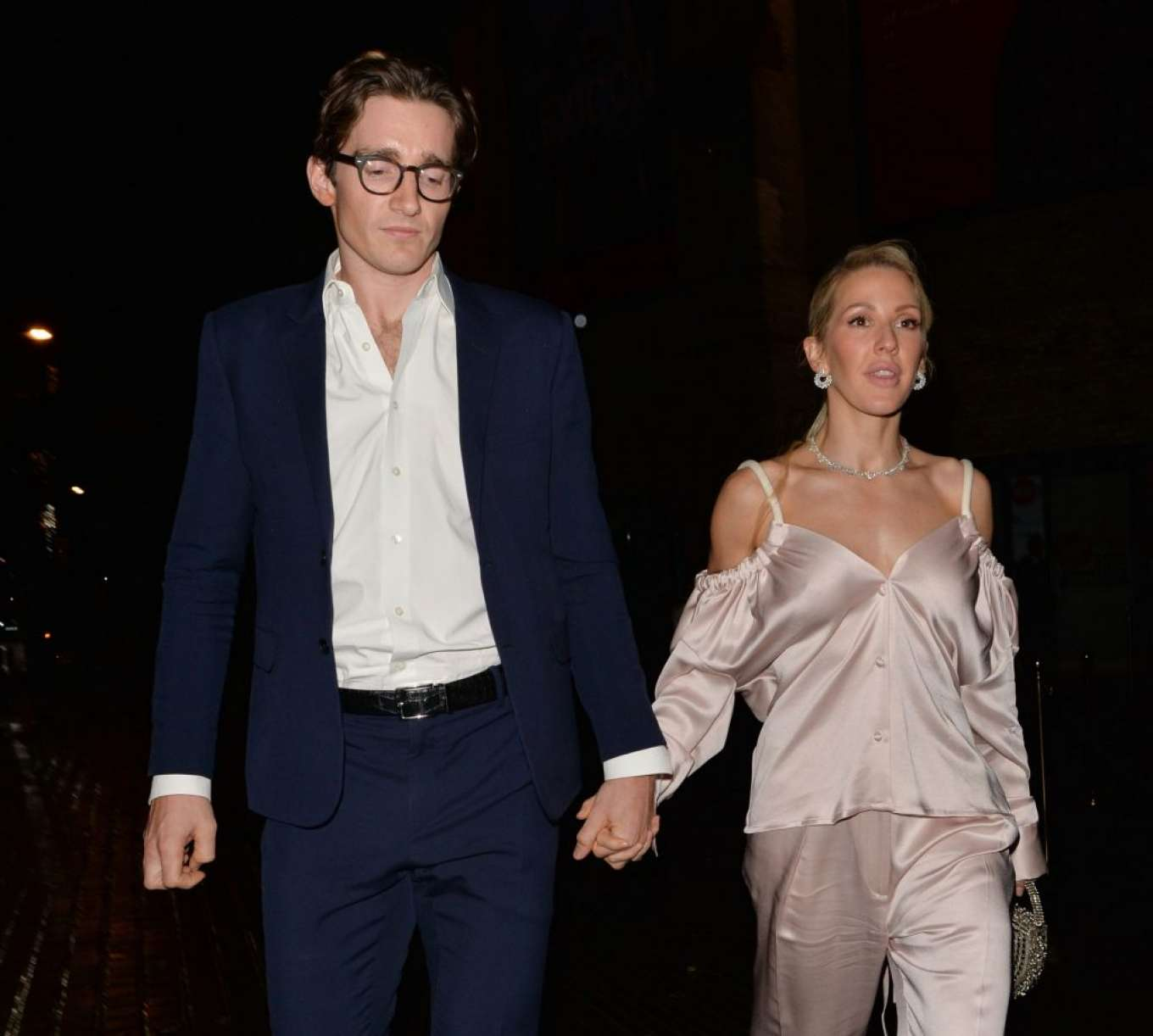 Ellie Goulding 2019 : Ellie Goulding and her husband Jaspar Copling were seen leaving the Roundhouse in Camden – London-05