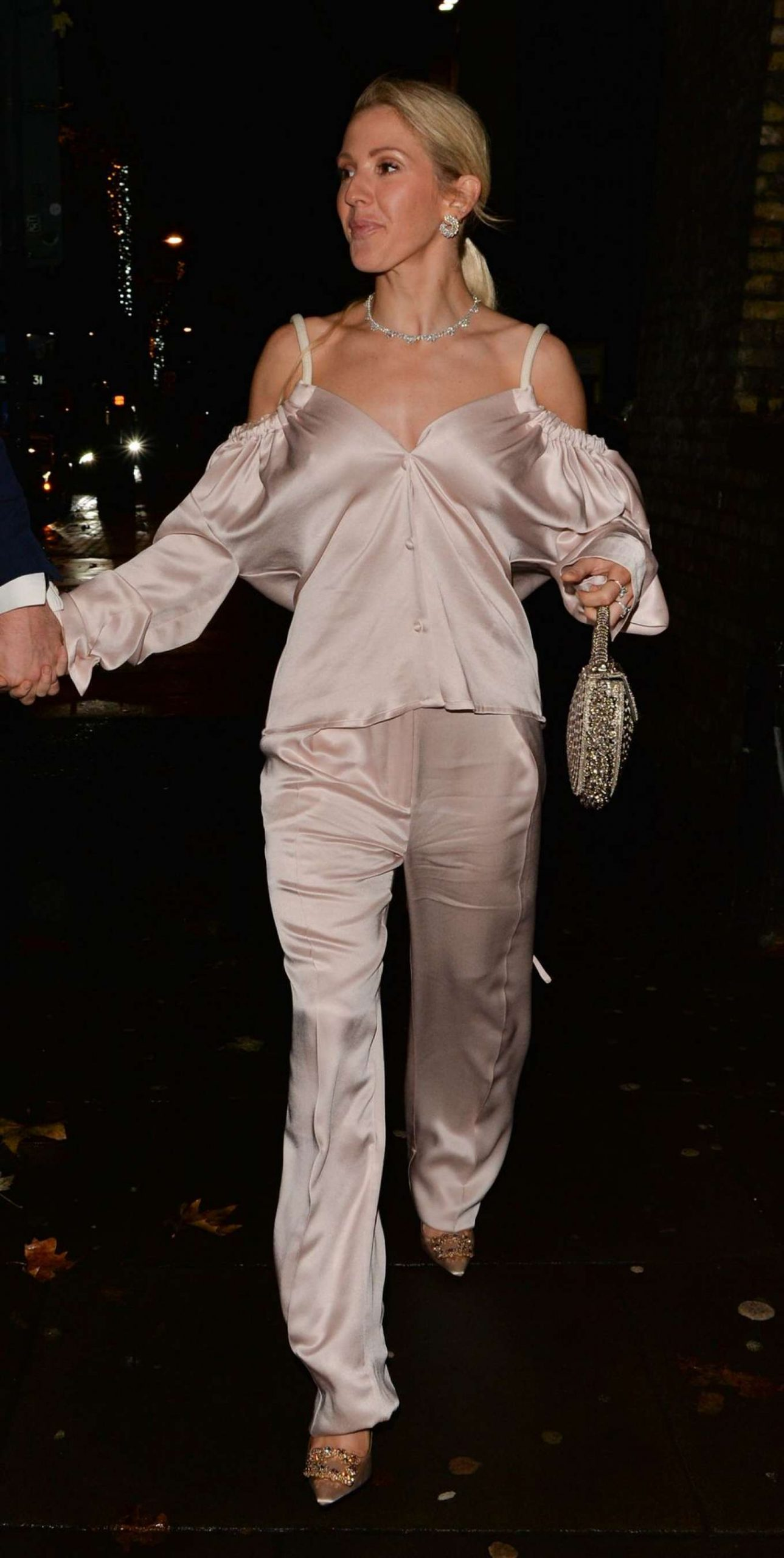Ellie Goulding 2019 : Ellie Goulding and her husband Jaspar Copling were seen leaving the Roundhouse in Camden – London-06