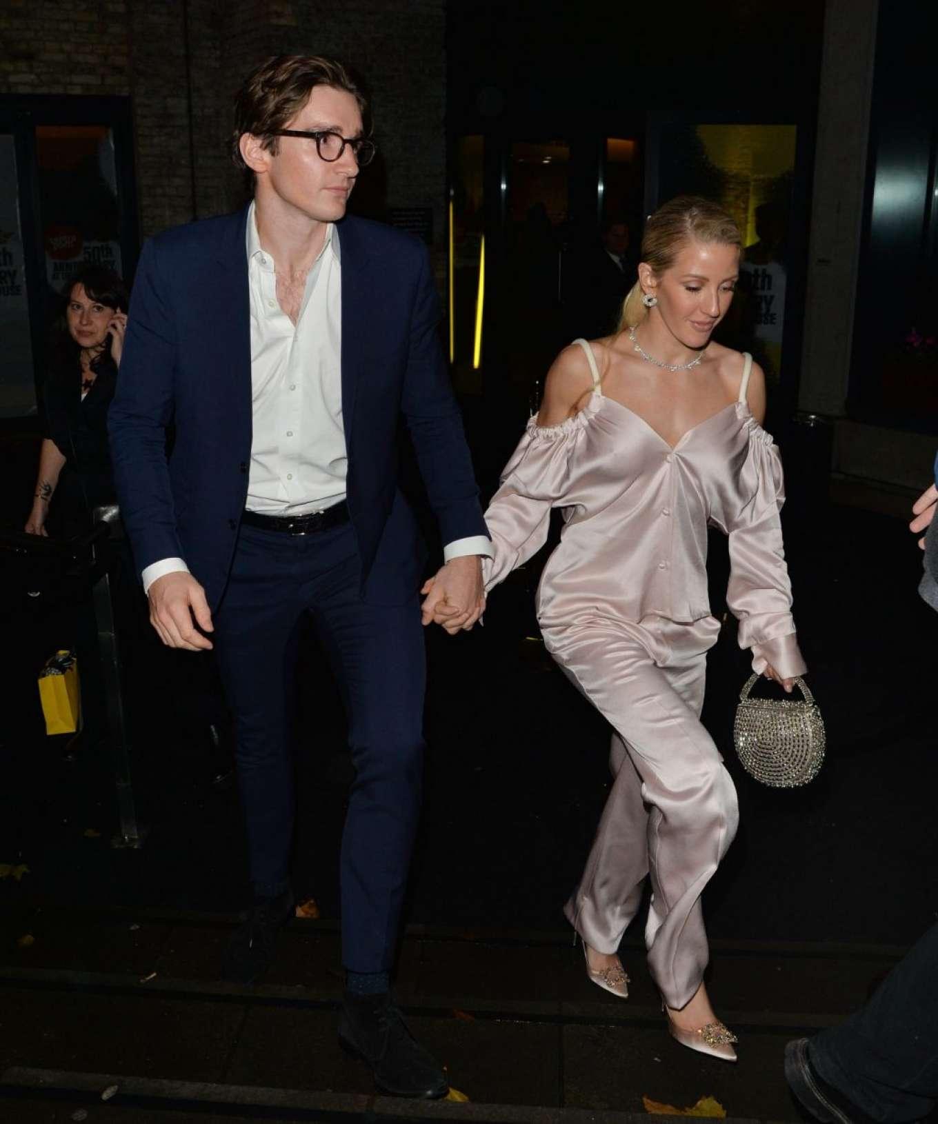 Ellie Goulding 2019 : Ellie Goulding and her husband Jaspar Copling were seen leaving the Roundhouse in Camden – London-07