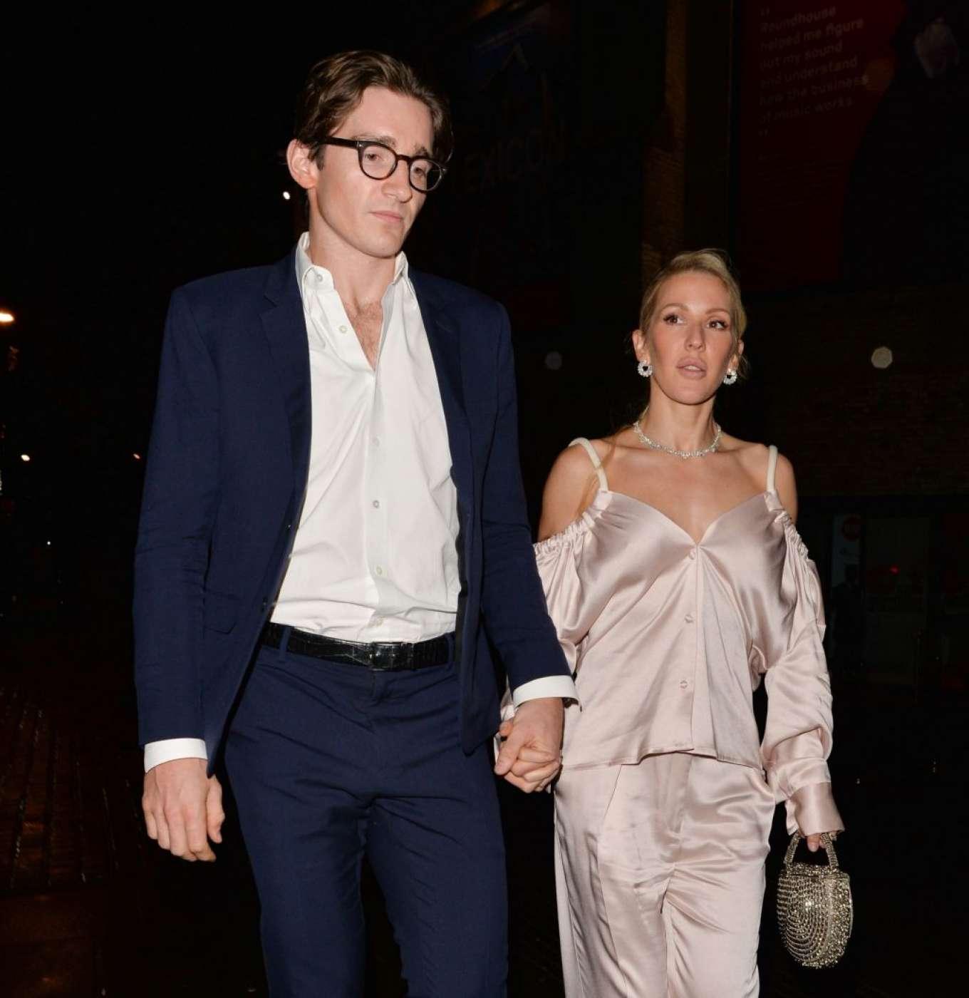Ellie Goulding 2019 : Ellie Goulding and her husband Jaspar Copling were seen leaving the Roundhouse in Camden – London-16