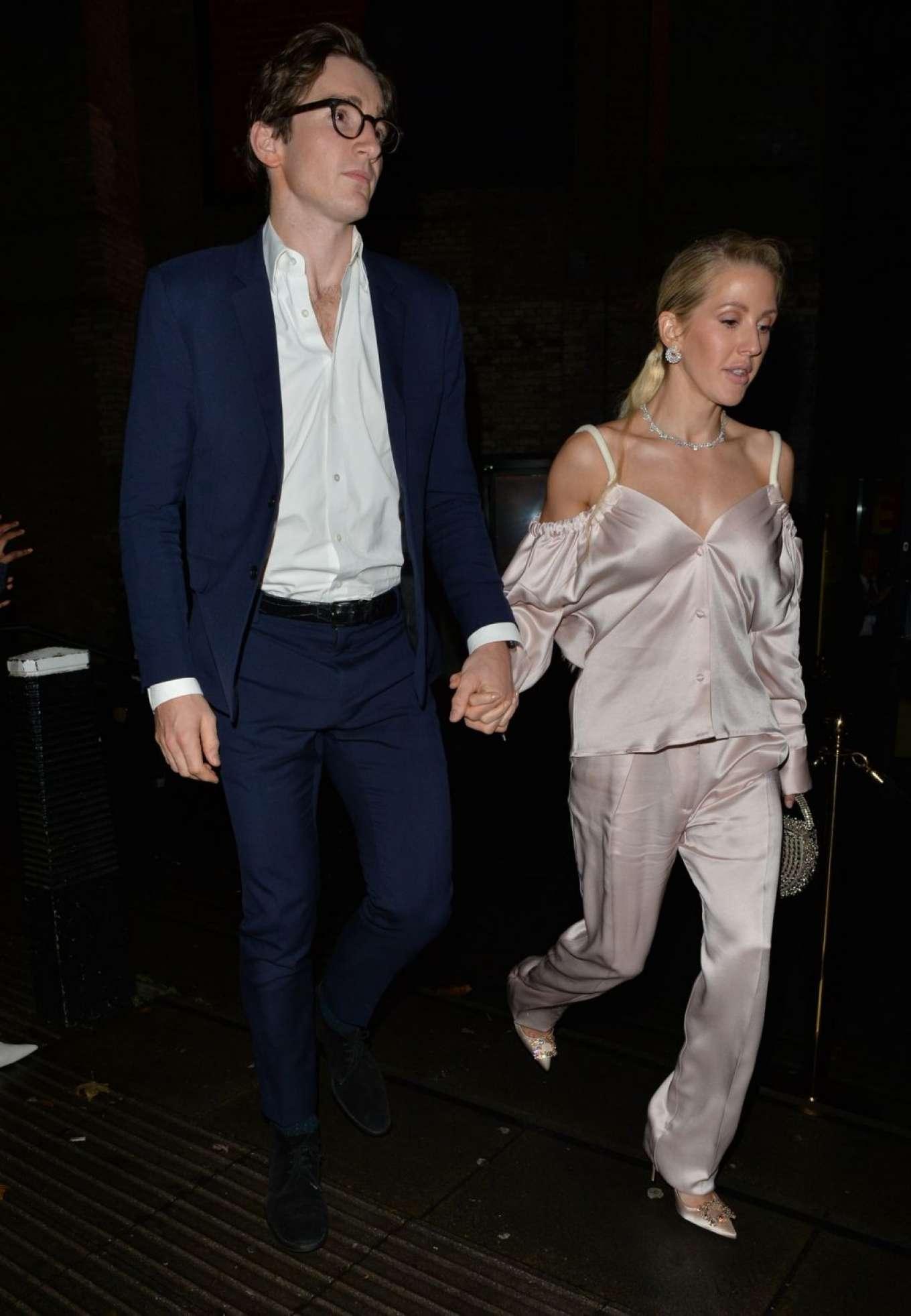 Ellie Goulding 2019 : Ellie Goulding and her husband Jaspar Copling were seen leaving the Roundhouse in Camden – London-19