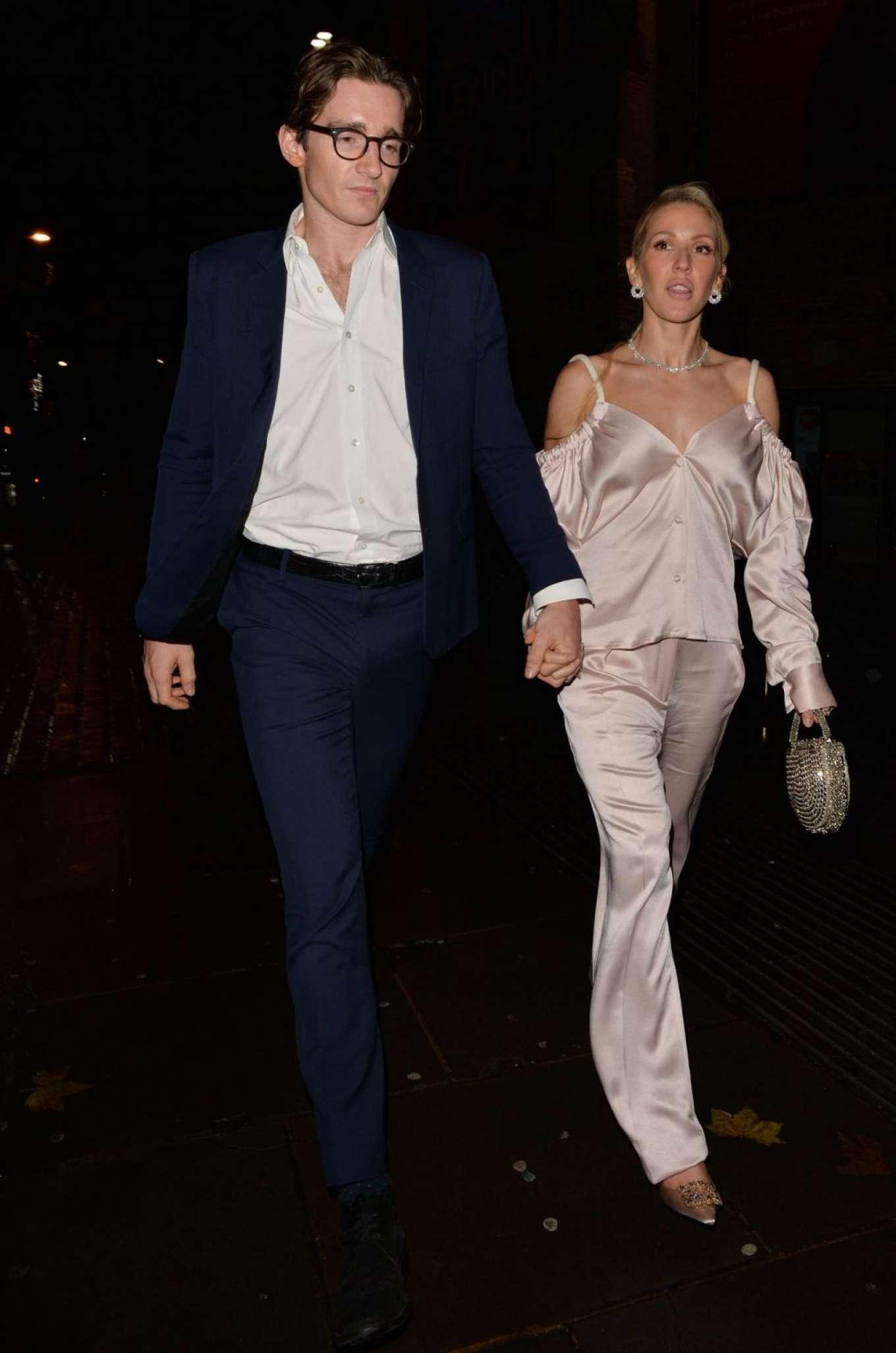 Ellie Goulding 2019 : Ellie Goulding and her husband Jaspar Copling were seen leaving the Roundhouse in Camden – London-20