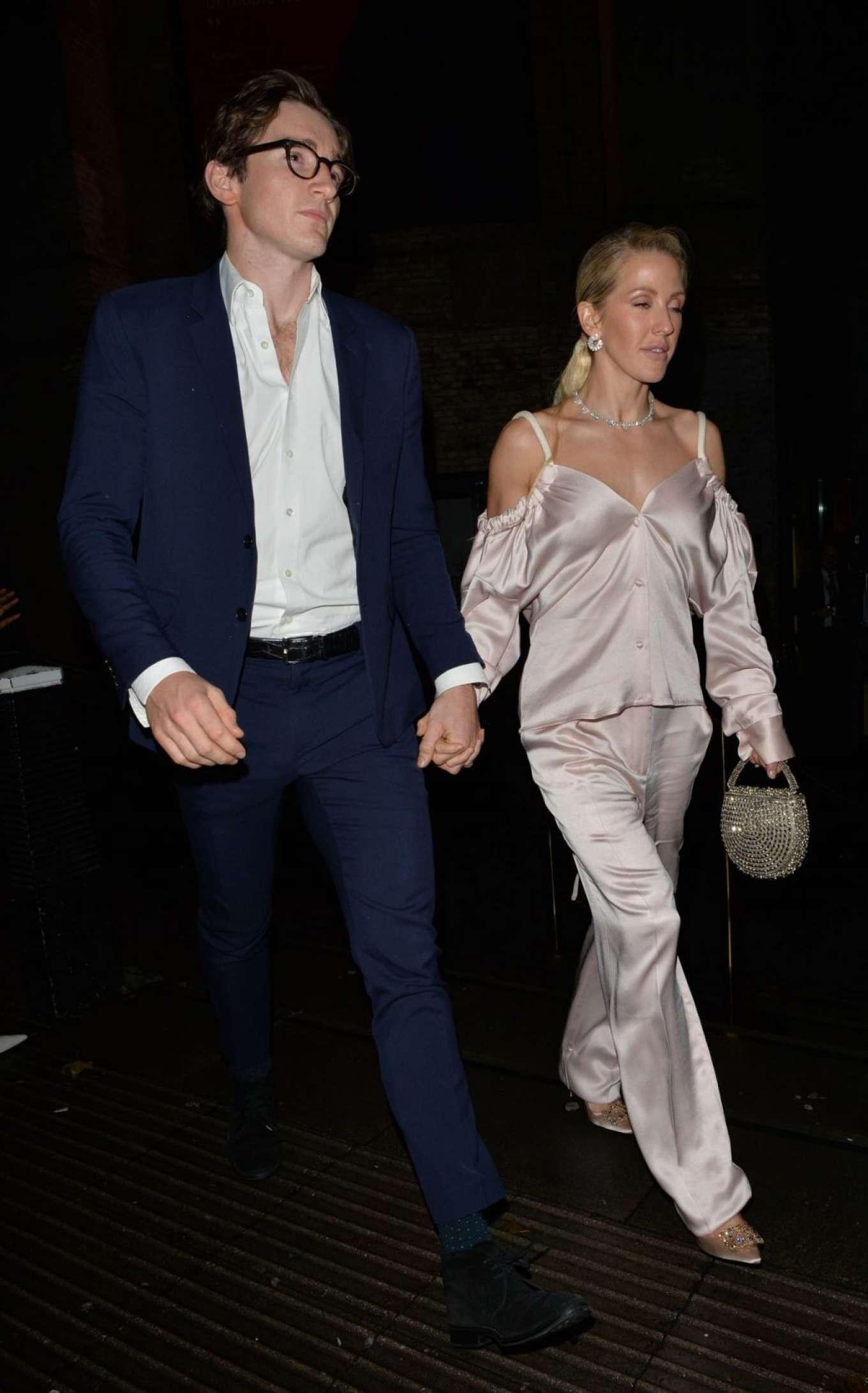 Ellie Goulding 2019 : Ellie Goulding and her husband Jaspar Copling were seen leaving the Roundhouse in Camden – London-22
