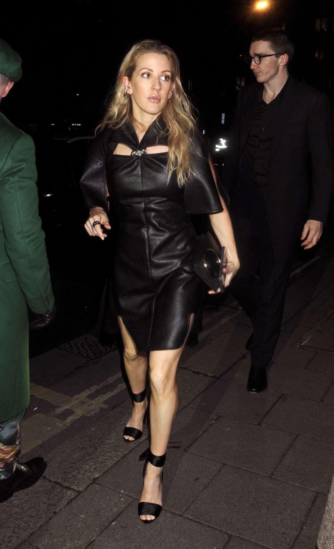 Ellie Goulding - Arrives at British Vogue's Fashion & Film Party 2020 in London