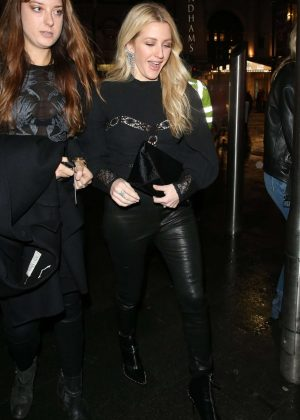 Ellie Goulding - Arrives at Magic Mike Live Press Night in London