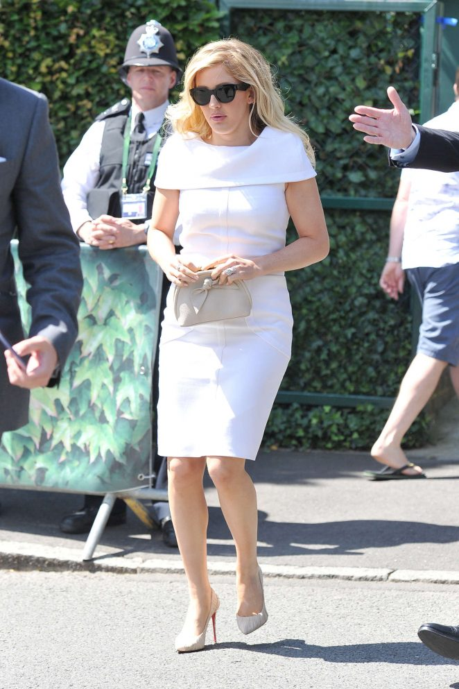 Ellie Goulding - Arriving at 2016 Wimbledon Championships in London