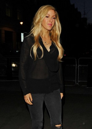 Ellie Goulding at BBC Radio 1 Studios in London