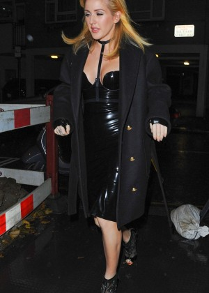Ellie Goulding at Halloween Party in Notting Hill