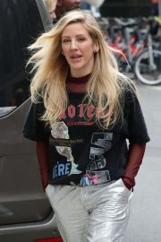 Ellie Goulding at KISS Radio Studios in London